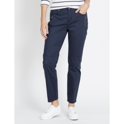 Katies 7/8 Skinny Zip Pant - Navy - 6 found on Bargain Bro Philippines from W Lane for $12.91