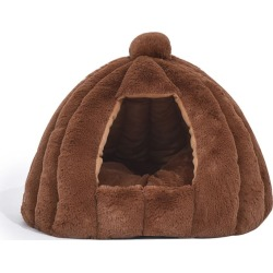 Pawz L Size 55x55x48cm Tent Shape Cat House - Brown found on Bargain Bro from Rivers for USD $24.85