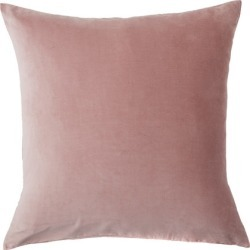 Windsor Velvet European Pillowcase Pair - Rosewood - One Size found on Bargain Bro from Noni B Limited for USD $17.02