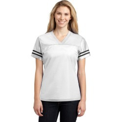 Sport-tek Ladies Posicharge Replica Jersey - White/ Black - L found on Bargain Bro Philippines from Noni B Limited for $20.65
