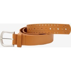 Rivers Laser Cut Belt With Studs - Multi - L found on Bargain Bro India from Rockmans for $13.60