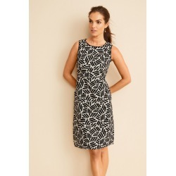 Capture 100% Cotton Tea Dress - Geo Print - 8 found on MODAPINS from Rockmans for USD $38.87