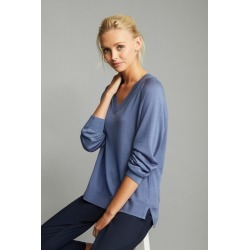 Emerge Merino V Neck Sweater - Smoke - XL found on Bargain Bro India from Noni B Limited for $40.41
