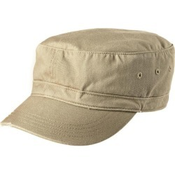 District - Distressed Military Hat - Khaki found on Bargain Bro India from crossroads for $14.75