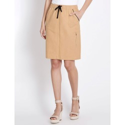 Rockmans Pocket Detail Linen Skirt - Hessian found on Bargain Bro India from crossroads for $13.68