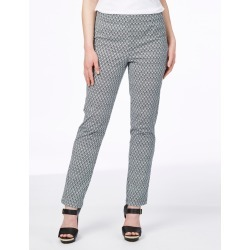 W.lane Shell Print Full Length Pant - French Navy - 8 found on Bargain Bro from Noni B Limited for USD $23.48