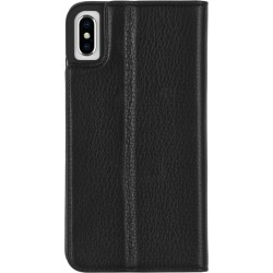 Case-mate Wallet Folio Minimalist Case For Iphone Xs Max - Black - One