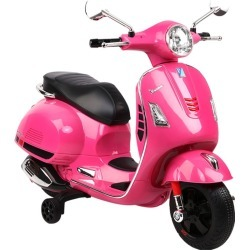 Rigo Kids Ride On Motorbike Vespa Licensed Motorcycle Car… Toys Pink - One found on Bargain Bro India from Rockmans for $160.13