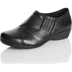 Rivers Leather Casual Slip-on Shoe - Black - 37 found on Bargain Bro India from Rockmans for $40.55