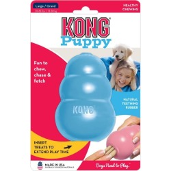 Kong Rubber Treat & Food Dispenser Puppies Toy Large - Multi found on Bargain Bro from Rivers for USD $18.44