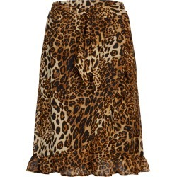 Crossroads Rf Wrap Mini Skirt - Print Animal - 14 found on Bargain Bro India from Rockmans for $11.59