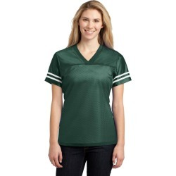 Sport-tek Ladies Posicharge Replica Jersey - Forest Green/ White - L found on Bargain Bro Philippines from Noni B Limited for $20.65