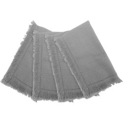 Avani Set Of 4 Napkins 40x40cm - Grey found on Bargain Bro India from crossroads for $36.17