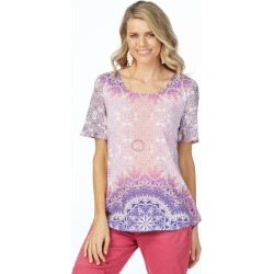 Rockmans Shortsleeve Destiny Print Tee - Multi - 8 found on Bargain Bro India from Katies for $7.77