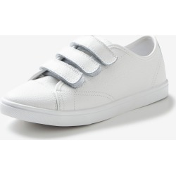 Rivers Leathersoft Triple Strap Rip Tape Sneaker - White - 39 found on Bargain Bro from Rockmans for USD $24.53