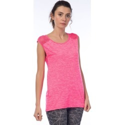 Jerf Womens Cape Melange Active Top - Pink - M found on Bargain Bro from Noni B Limited for USD $26.41