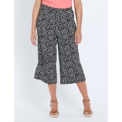 Millers Jersey Culotte Pant - Animal Print - 10 found on Bargain Bro from Rivers for USD $5.87