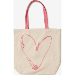 Rivers Printed Canvas Tote Bag - Lonely Heart found on Bargain Bro India from crossroads for $3.84