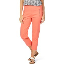 W.lane zip Trim Crop Pant - Coral - 20 found on Bargain Bro from Noni B Limited for USD $20.71