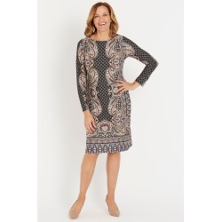 Millers Printed Ity Dress - Dusty Pink Paisley - 14 found on Bargain Bro from Katies for USD $11.83