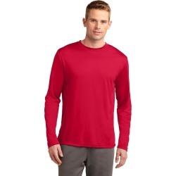 Sport-tek Long Sleeve Posicharge Competitor Tee - True Red - L found on Bargain Bro Philippines from Noni B Limited for $21.21