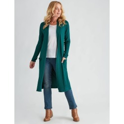 Rivers Longline Edge To Edge Cardigan - Forrest - L found on Bargain Bro Philippines from crossroads for $9.43