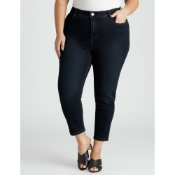 Beme Mid Rise Core Short Length Jean - Indigo - 22 found on Bargain Bro India from Rockmans for $43.54