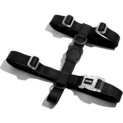 Zee Dog Neopro Adjustable Soft Dog H Harness Black Small