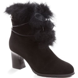 Ozwear Ugg Leah Fur Lined Heel - Black - EU36 / AU6L found on Bargain Bro from Katies for USD $90.41