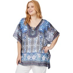 Beme Elbow Sleeve Kaftan - Multi - S/M found on Bargain Bro India from BE ME for $11.57