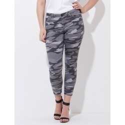Crossroads Dark Camo Skinny Pant - Black - 22 found on Bargain Bro India from Rockmans for $14.48
