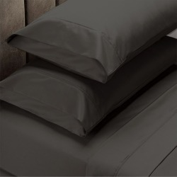 Royal Comfort 1500tc Cotton Rich Fitted Sheet Set - 4 Piece - Dusk Grey - Queen found on Bargain Bro from Noni B Limited for USD $42.85
