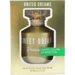 Benetton United Dreams Sweet Dreams Eau De Toilette Spray - Multi - 80ml found on Bargain Bro from BE ME for USD $16.99