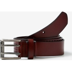 Rivers Top Grain Leather Perforated Belt - Brown - M found on Bargain Bro from Noni B Limited for USD $17.59