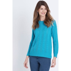 W.lane Button Textured Knit - Jewel - XL found on Bargain Bro from Noni B Limited for USD $22.90