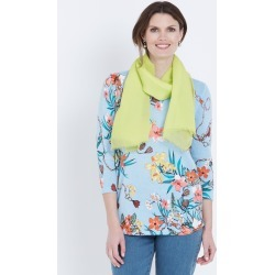 W.lane Pleated Scarf - Chartreuse - One Size found on Bargain Bro India from Katies for $15.24