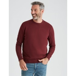 Rivers Fine Gauge Cotton Jumper - Tawny Port Twist - L found on Bargain Bro from Rockmans for USD $14.01