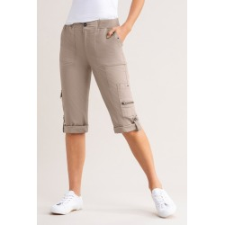Capture Cargo Roll Up Crop - Camel - 18 found on Bargain Bro India from Rockmans for $28.82