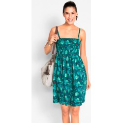 Urban Shirred Sun Dress - Palm Print - 10 found on MODAPINS from BE ME for USD $15.29