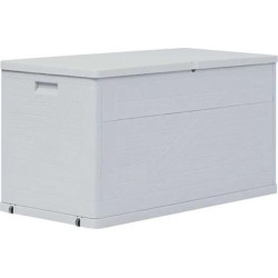 Garden Storage Box 320 L - Grey