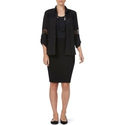 Rockmans Knee Length Stud Detail Ponte Skirt - Black - XL found on Bargain Bro India from Noni B Limited for $14.08
