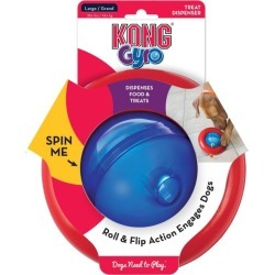 Kong Dog Gyro Food Dispenser Interactive Dog Toy Large - Multi found on Bargain Bro from Rivers for USD $22.34