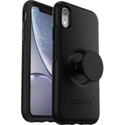 Otter + Pop Symmetry Case For Iphone Xr - Black - One