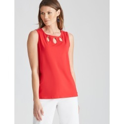 W.lane Keyhole Top - Red - L found on Bargain Bro from Noni B Limited for USD $4.40