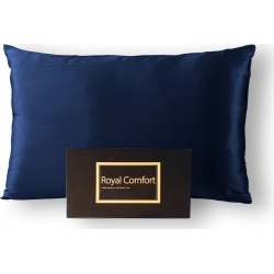Royal Comfort 100% Dual-sided Pure Silk Pillowcase - Navy - ONE found on Bargain Bro India from W Lane for $58.40