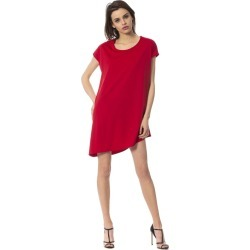 Frankie Morello Rosso Dress - Red - IT46 found on Bargain Bro India from W Lane for $123.82