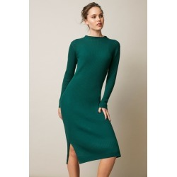 Emerge High Neck Knit Dress - Forest - XXL found on Bargain Bro from crossroads for USD $40.44
