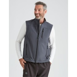 Rivers-tex Soft Shell Vest - Charcoal - L found on Bargain Bro from Rockmans for USD $28.61