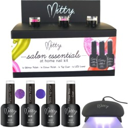 Mitty Salon Essentials At Home Nail Kit - Purple Berry - One found on Bargain Bro Philippines from Rivers for $79.15