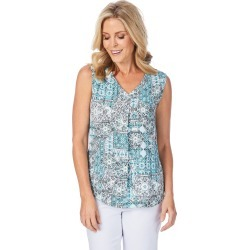 W.lane Leaf Drape Blouse - Multi - 8 found on Bargain Bro Philippines from W Lane for $15.72